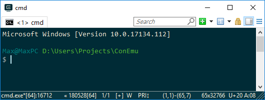 git for windows command prompt