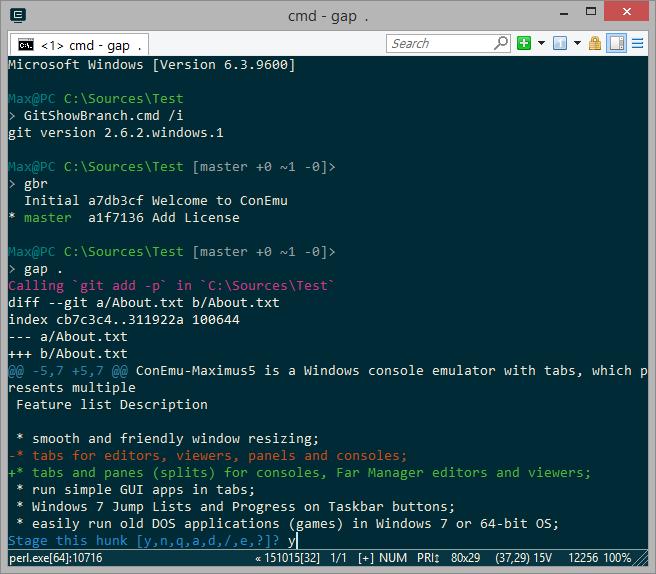 PHP Artisan in Git Bash